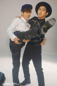 Dongwoo and Hoya, Infinite