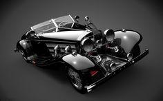 Mercedes 500K black