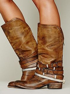 Free Bird by Steven Drazen Mid Boot at Free People Clothing Boutique