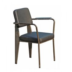 Prouve Standard Armchair Upholstered - Wooden Chairs - Chairs Commercial Furniture