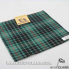 Macaulay Hunting Tartan Handkerchief.