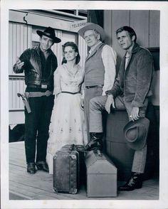 1970 James Drury Stars TVs The Virginian Wire Photo