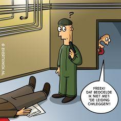 Dat bedoelde ik niet. #cartoon