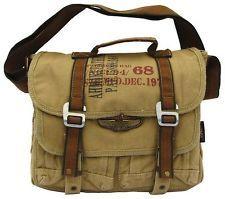 Vintage Leather Shoulder Bag Messenger Man Cross Retro Shoulder Satchel Bag 8b29392d3f3d2