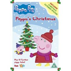 The perfect Christmas gift for the kiddies - Peppa Pig: Peppa's Christmas on DVD!