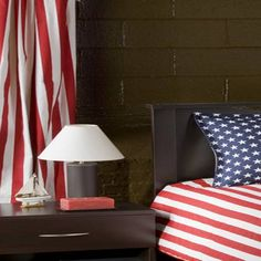 Victor Mill Stars & Stripes Drapery Pair by Victor Mill Bedding : The Home Decorating Company
