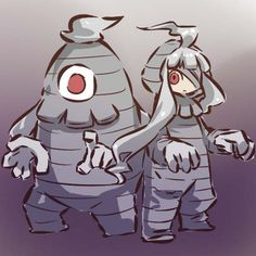 Pokémon - 356 Dusclops art by hitec (Sankaku Channel)
