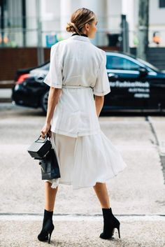 Chic Way to Wear Ankle Boots For Work