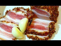Slănină marinată preparată acasă - o adevărată delicatesă culinară - Bucatarul Charcuterie, Pork Recipes, Crockpot Recipes, Venison, Kefir, Cheesecake, Picnic, Fish, Meat