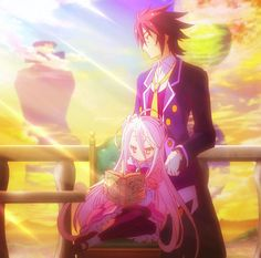 No Game no Life. What a fantastic Anime! Found it very different from any other Animes I've seen in a while!