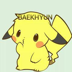 If Baekhyun was pikachu