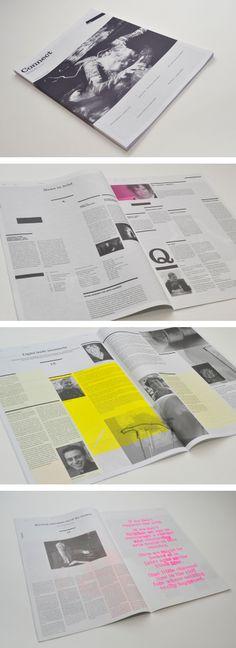 print layout