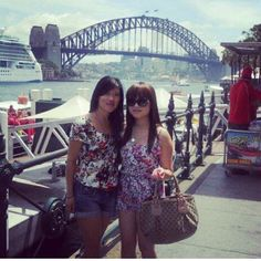Throwback with @kionathy in #sydney what a great weekend seeing my #frenchie sister. Miss you babe! #throwback #sydneyweekend #summer #solongago #french #australian #vietnamese #missyou #onedaywewillmeetagain #love #friendship #sydneyharbourbridge #australiamate #hellofromtheotherside by de3bee http://ift.tt/1NRMbNv