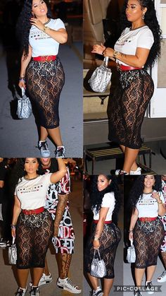 Baddie Outfits Casual, Hot Outfits, Girl Outfits, Fashion Outfits, Womens Fashion, Fashion Trends, Thick Girl Fashion, Cute Fashion, Tammy Rivera