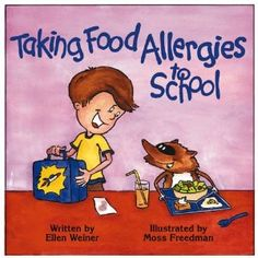 Doesn't look like all 54 of Maxine's food allergies will fit into that school lunch-box, but we'll give the book a read anyway!