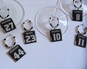 LA Kings Wine Charm Set. I have to attempt to make these