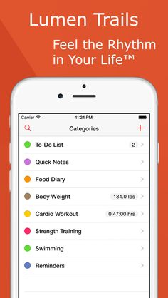Lumen Trails - Exercise Tracker & Daily Planner on App Store:    Apple New Year New You Favorite  Apple App Store Staff Favorite Lumen Trails is an omni tracker. It lets you take notes make lists and keep track of other things in your life such as time workouts expenses calories food weight sleep or anything else you can think of. Thousan...  Developer: Lumen Spark LLC  Download at http://ift.tt/1wsJBXY