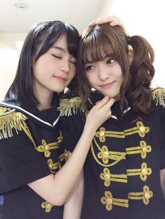 Aww, this is pretty cute. Erika and Sayuri Beautiful Girl Image, Beautiful Women, Ikuta Erika, Japan Girl, Interesting Faces, Pretty And Cute, Celebs, Celebrities, Female Portrait