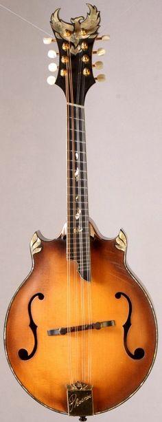 Phoenix Mandolins fan fret Mandolin --- https://www.pinterest.com/lardyfatboy/                                                                                                                                                                                 More