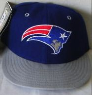 The rarest Patriots logo of all time on a fitted hat from 1993.