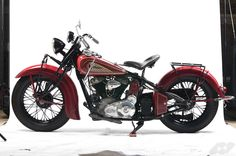 The 1938 Indian Chief incorporated a number of improvements over the 1937 model, the engineers at Indian worked on refining each model year as best they...