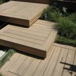 Superb doggie stairs in Deck Contemporary with Step-down Deck next to Front Porch Steps alongside Deck Gardening and Deck Stairs
