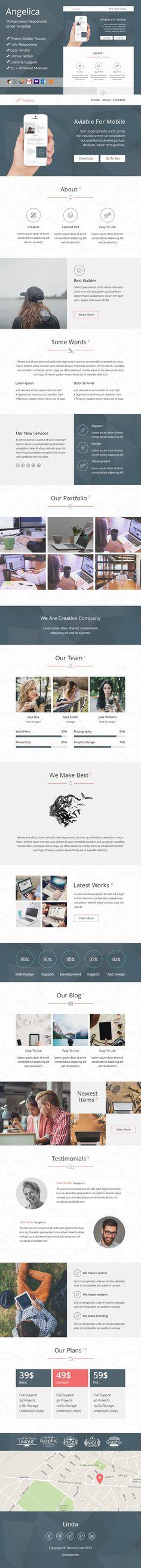 Angelica-responsive email+SR builder