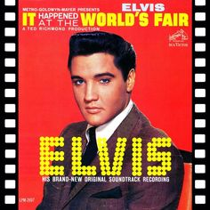 """August 28, 1962 Elvis records and films for his 12th motion picture, """"It Happened at the World's Fair."""" Shooting is done in Hollywood and on location at the World's Fair in Seattle."""
