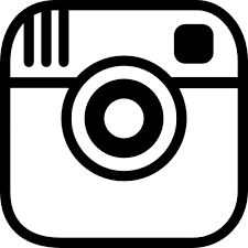 logo instagram vector black