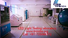 LED Testing Laboratory accredited by NABL http://www.producttestinglab.com/