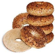Always New York Bagels ~ Onion Bagels, distributed by Soft Stuff Distributors Onion Bagel, New York Bagel, Bagels, Bread, Food, Brot, Essen, Baking, Meals