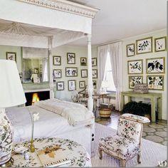 Lee Radziwell New York apartment Bedroom