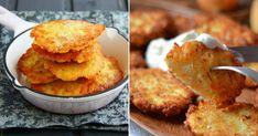 Elképesztően finom és nagyon könnyen elkészíthető. Ha gyors ebédet készítenél, próbáld ki. Fokhagymás tejföllel a legfinomabb ez... Baby Food Recipes, Cornbread, Mashed Potatoes, Cauliflower, Muffin, Meat, Dinner, Vegetables, Breakfast