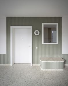 Interior Floor Wall Plaster  Miroslav Šik, Housing for the Elderly, Zug, 2013