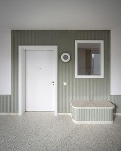 Interior Floor Wall Plaster  Miroslav Šik, Housing for the Elderly, Zug, 2013