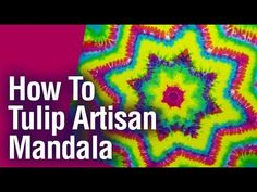 DIY How to Tie Dye Rainbow Diagonal Fan Fold Shirt [Short Tutorial] - YouTube