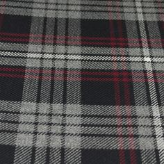 Tartan Fabric - Auld Lang Syne - Grey Auld Lang Syne, Printable Scrapbook Paper, Tartan Fabric, Plaid Scarf, Swatch, Weaving, Colours, Pure Products, Wool