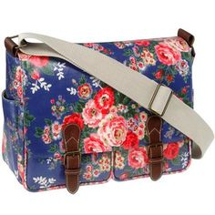 adorable floral travel bag