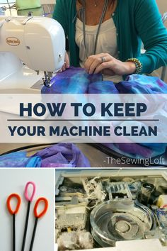 Keep your machine clean and running like a champ with these easy instructions. Includes step by step photos and video for the DIY in you.