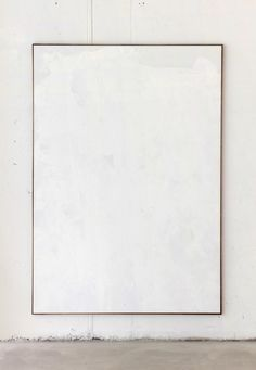 """tizianomartini: """"tiziano martini, untitled, white acrylic paint dried behind plastic on cotton on wooden stretcher, artist frame, cm courtesy The Artist/Kunsthalle Eurocenter """" Monochromatic Art, Neutral Art, White Acrylic Paint, White Acrylics, Black And White Canvas, Black And White Painting, Wall Collage, Canvas Wall Art, Diy Canvas"""