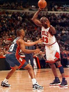 Jordan Ready To School Hawkins, '96 Finals.