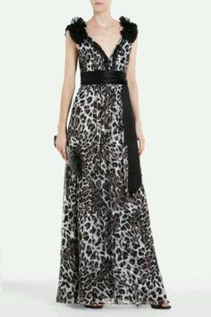 BCBG Cheetah Dress