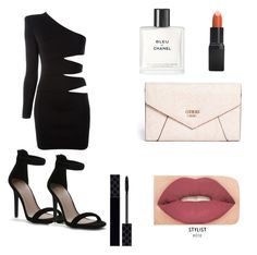 """My First Polyvore Outfit"" by hdalmau ❤ liked on Polyvore featuring Barry M, Smashbox, GUESS, Gucci, Chanel and Balmain"