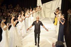 Angel. Desfile 25 años.    Durante este 2012 Angel Sánchez esta celebrando sus 25 años de trayectoria e inició con el festejo en su querida Venezuela.