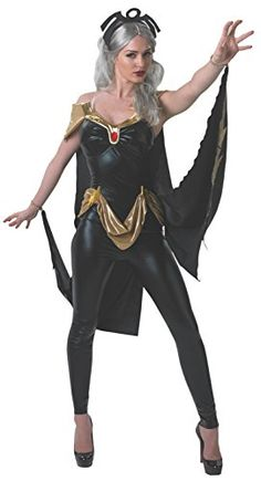 Secret Wishes Women's Marvel Universe Secret Wishes Storm Costume Cat Suit and Mask, Multicolor, X-Small Secret Wishes http://www.amazon.com/dp/B00IP8SMTU/ref=cm_sw_r_pi_dp_gFjgwb11XHDYN