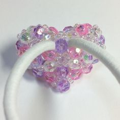 Beading Projects, How To Make Beads, Hair Ties, Jewerly, Beaded Headbands, Inspiration, Sweets, Hair, Women's
