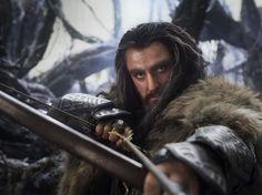 "More ""The Hobbit"" stills - Thorin.    Mr. Oakenshild, ladies and gentleman!"
