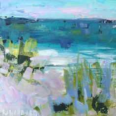"""Somewhere by the Sea"" by @barefootstudios (Pam Wingard) link in bio#charlotte #artist #christenberrycollection"