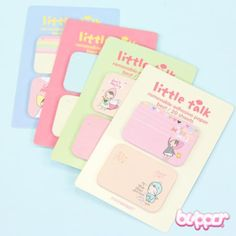❤ PONYBROWN MINI NOTE STICKER SET