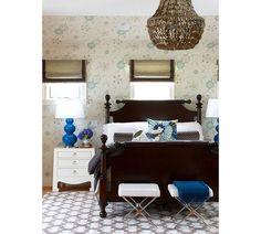 Minimalist Bedroom Decoration Inspiration and Design Blue Gray Bedroom, Bedroom Colors, Blue Bedrooms, Guest Bedrooms, Guest Room, White Trim, Bedroom Furniture, Bedroom Decor, Accent Furniture
